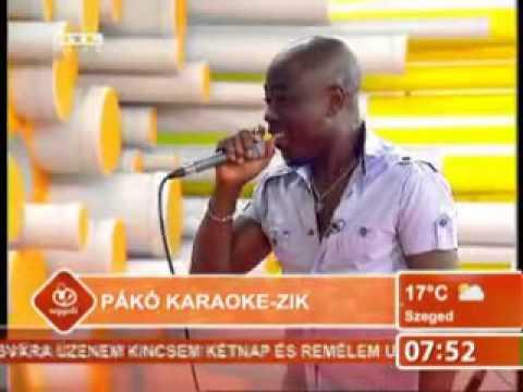 Fekete Pákó karaoke