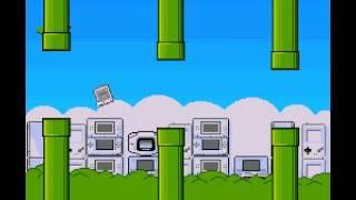 Frappy SNES (flappy bird clone) - Frappy SNES - Score of 47 - User video