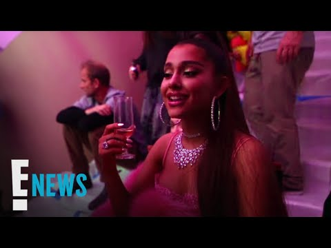 "Ariana Grande's ""7 Rings"" Music Video Had Champagne Problems 