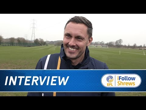 INTERVIEW | Paul Hurst pre Charlton - Town TV