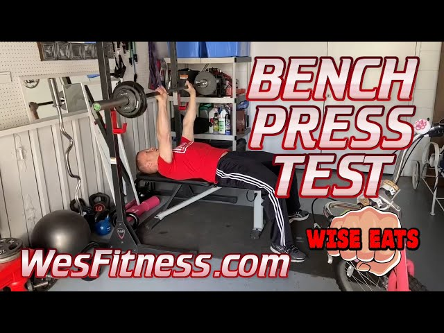 The YMCA Bench Press Test - Fitness Assessment for Upper Body Strength & Endurance (WesFitness.com)