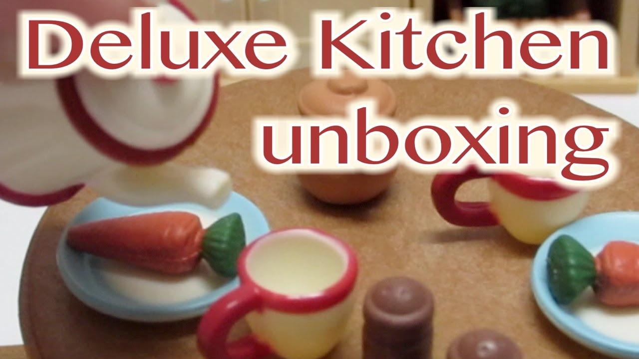 Calico Critters Deluxe Kitchen Set - YouTube