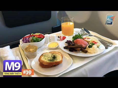 [M9] #39: Hạng thương gia Airbus A330 Vietnam Airlines từ Busan về TP.HCM | Yêu Máy Bay