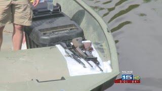 Guns in River