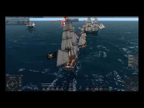 Naval Action - Trincomalee vs Constitution