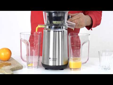 Spremitore hotpoint ariston slow juicer youtube for Hotpoint ariston estrattore