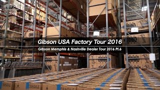 Gibson USA Factory Tour 2016【週刊ギブソンVol.95 特別編】 ギブソン 検索動画 42