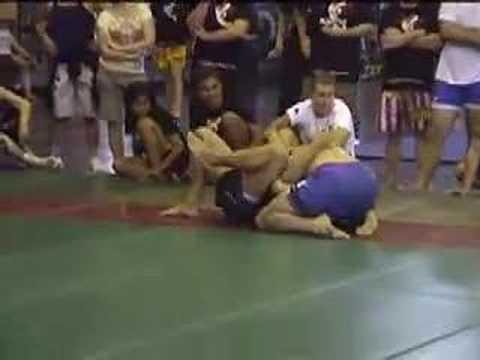 Andreas (Team MMA Phuket) vs Allan Harvey @ SEA Ga...