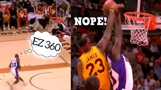 NBA Fancy Plays Gone Wrong