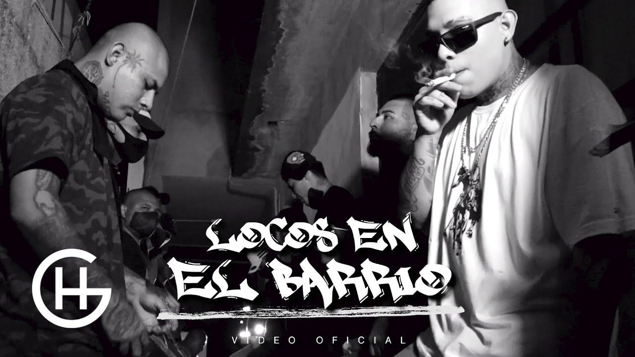 LA SANTA GRIFA // LOCOS EN EL BARRIO // VIDEO OFICIAL
