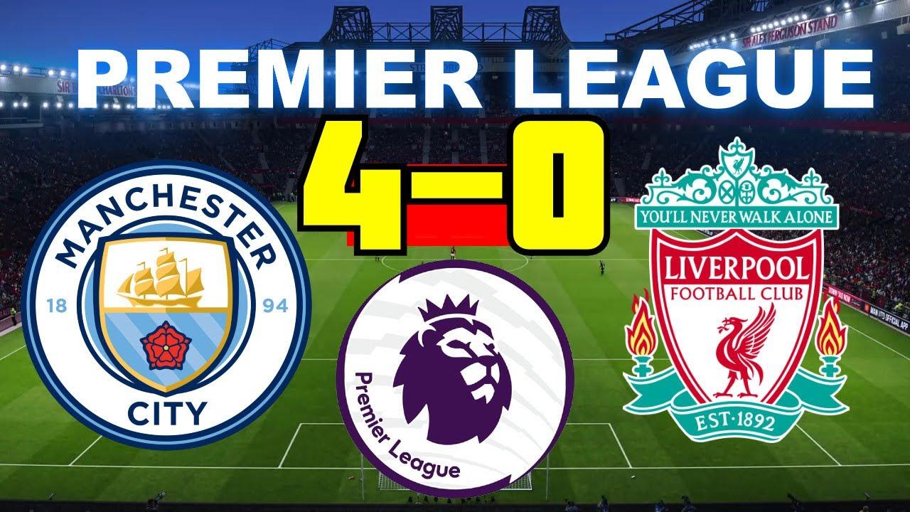 Manchester City vs Liverpool 4-0 | Premier League 02/07 ...