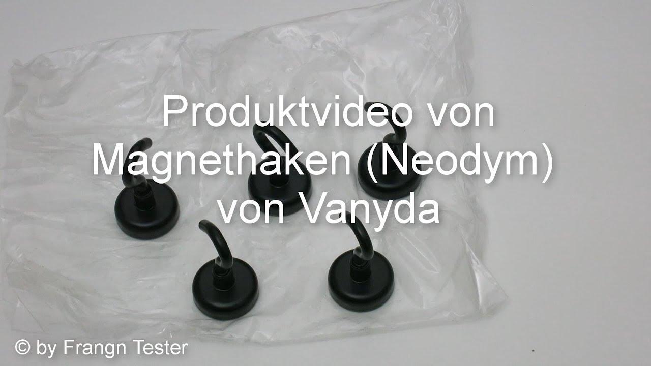 Einzigartig 480 - Neodym-Magnet Haken - von Vanyda - YouTube AP78