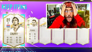 10 BASE ICON PACKS!! OMFG!! FIFA 21