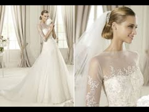 Greek Goddess Style Wedding Dresses - YouTube