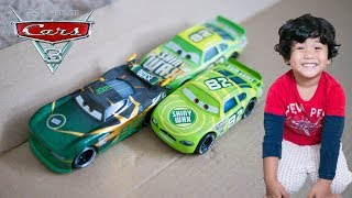 Disney Cars 3 Toys Next Gen Shiny Wax Racer CONRAD CAMBER Diecast | Cars 3 2018 Case F