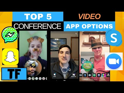 BEST VIDEO CHAT FREE 2020 APPS To Call Conference With Friends! (Zoom, Facebook Messenger, Skype)