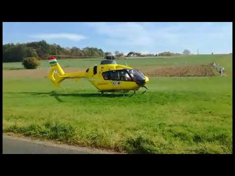 Súlyos sérülttel száll fel a mentőhelikopter Szentgotthárd és Apátistvánfalva között letöltés