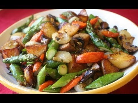 Pan Roasted Vegetables Recipe How To Make Pan Roasted Vegetables