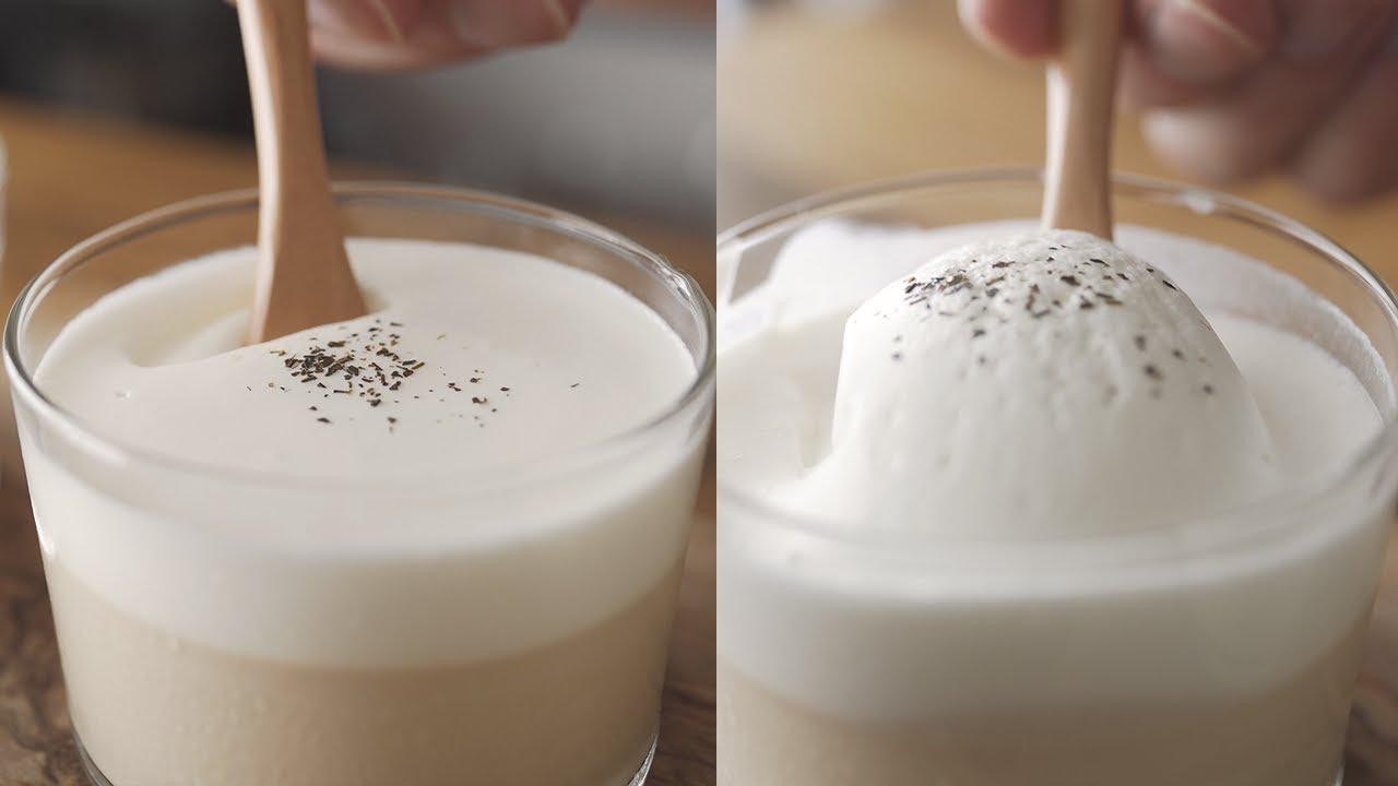 【低糖質】とっっろとろ!飲めるほうじ茶プリンを作る // Low Carb Hojicha Pudding (Drinkable)