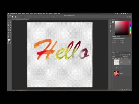 Effet Peinture Dans Une Typographie Avec Adobe Photoshop CC