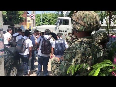 Militares toman policía en Acapulco ante posibles filtraciones