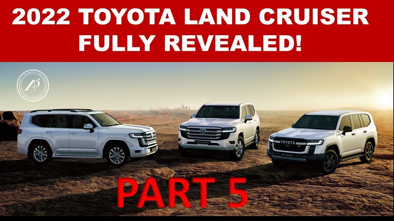 2022 LAND CRUISER FULL REVEAL & DEBUT! - Toyota finally launches the Land Cruiser to the world!