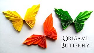Origami Butterfly Paper - Easy and Fast - Crafts