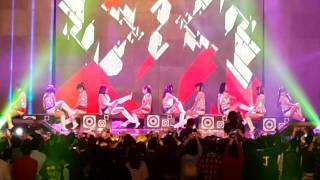 20131220 Yahoo尾牙11F shopping mall girls(第二名)
