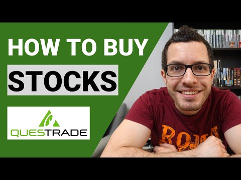 How To Buy Stocks? QUESTRADE Tutorial | Online Broker Walkthrough | Step By Step Investing Guide