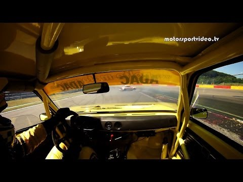 Opel Kadett C Coupe in Spa Francorchamps