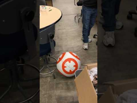 WSU Robotics Club, BB-8 project, movement test 2
