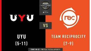 UYU vs Team Reciprocity | CWL Pro League 2019 | Division A | Week 8 | Day 3