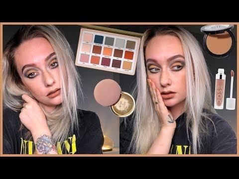 ALL MATTE Fall Makeup Look   JkissaMakeup