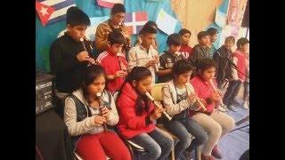 Festival en la escuela Francisca Jacques