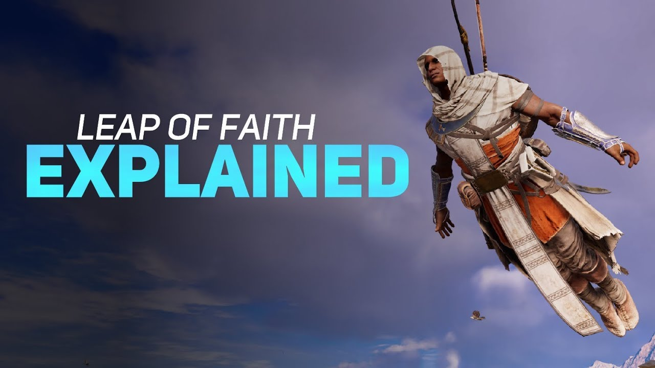 ****assin's Creed - The Leap of Faith Explained