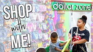 DOLLAR STORE SHOP WITH ME | ONE DOLLAR ZONE | Sensational Finds