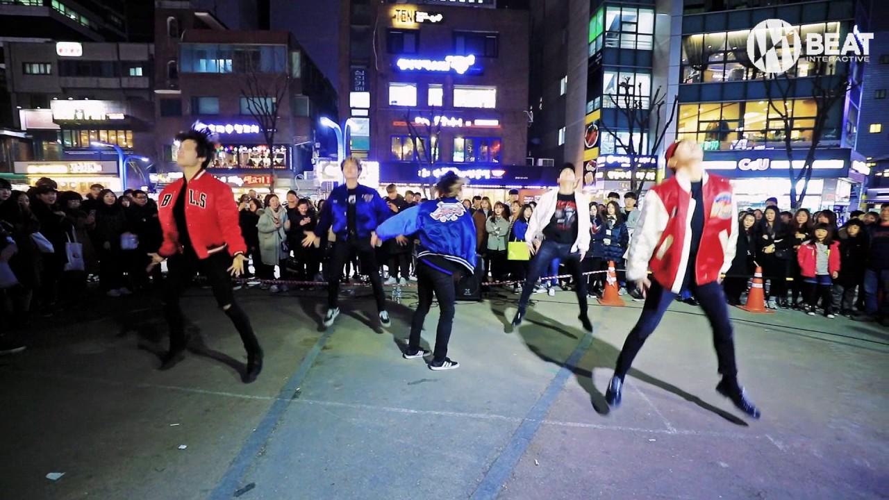 방탄소년단(BTS) - I need you & 쩔어(dope) Dance cover Busking in Hongdae