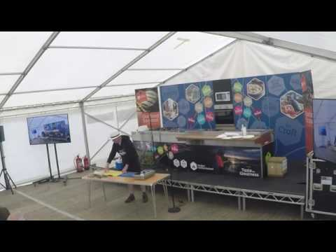 Rathlin Sound Maritime Festival 2017 - Hot Smoking Demonstration