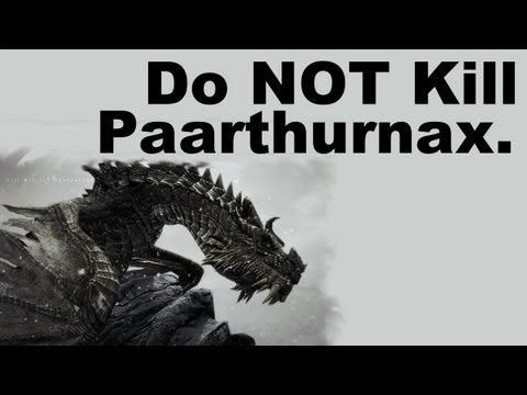 Do NOT Kill Paarthurnax (Skyrim)