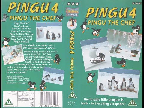Pingu 4  - Pingu the Chef [VHS] (1993)