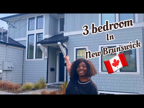 Apartment Tour In New Brunswick, Canada/ Cheapest Accommodation In Moncton