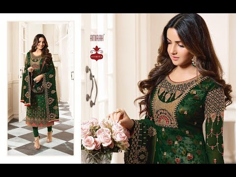 Latest Indian Dresses Collection 2019 || AMIRAH Creation || 11071-11078 GEORGETTE