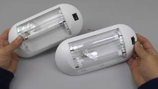 Каютные светильники с люминесцентными лампами