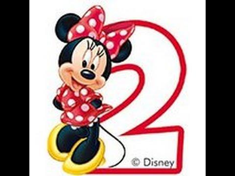 Emilia Wird 2 Kinder Geburtstags Dekoration Minnie Mouse Party
