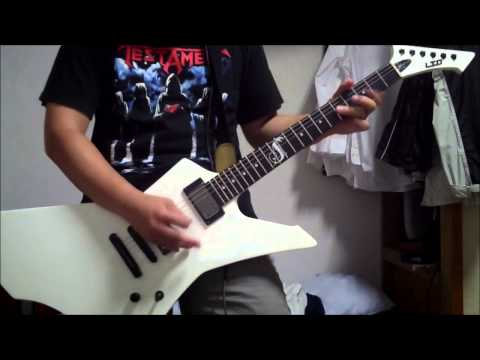 Metallica - Jump In The Fire - guitar cover