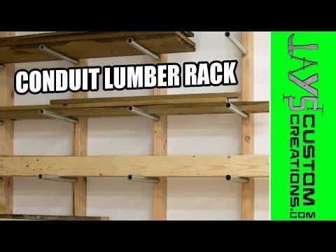 CHEAP Conduit Lumber Rack - 163