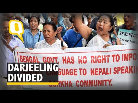 Gorkhas Rally Against Both Bengali and Bengal in Darjeeling - The Quint