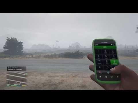 GTA V PS4| How To: Invincibility And Spawn Buzzard Cheats (Cheats In Description)