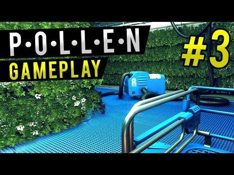 POLLEN Gameplay - Ep 3 - HYDROPONICS | Let's Play Pollen (First Look Gameplay)