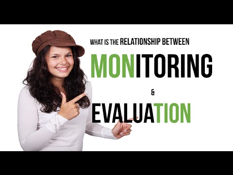 Basic Monitoring & Evaluation Concepts: relationship between monitoring and evaluation for projects